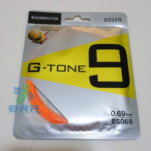 G TONE 9 BADMINTON RESTRING | GOSEN JAPAN STRING VERSION | JP