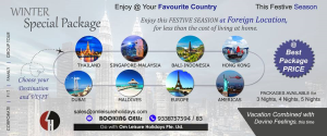 Foreign Tour with Om leisure Holidays
