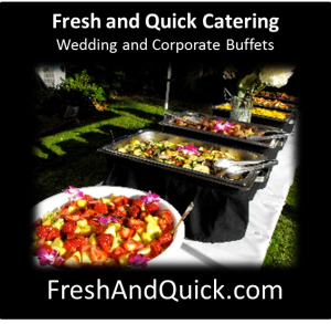 Wedding Reception Catering & Business Corporate Buffet