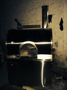 wood fired and gas pizza oven