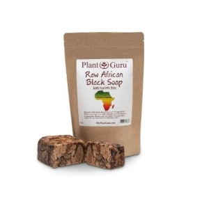 AFRICAN BLACK SOAP RAW 1LB. (HEAT SEALED POUCH)