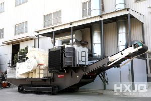 mobile jaw crusher machine