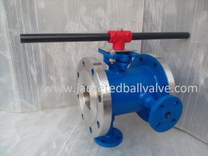 Molten Sulfur Jacketed Ball Valve