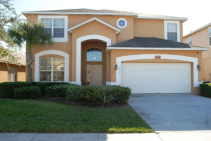 Front View of Disney area home