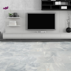 Fume Gray Marble Tile Polished