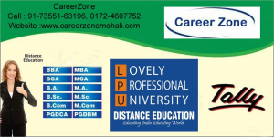 MCA Distance Education in Mohali