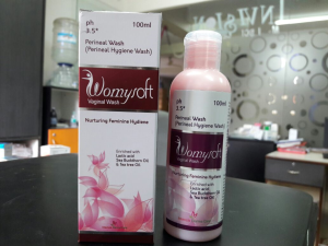 Womy soft vaginal wash