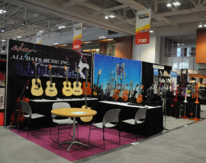 All Days Music at 2013 Summer NAMM Show