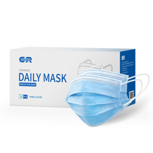 The manufacturer directly supplies disposable daily masks for daily protection