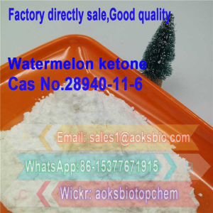 CAS 28940-11-6 99% Purity Watermelon Ketone of Cosmetic Flavor Raw Material