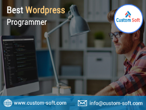 Best Wordpress Programmer in India provided by CustomSoft