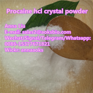 Procaine hydrochloride powder,Procaine hydrochloride price,51-05-8,Whatsapp:0086-15377671821