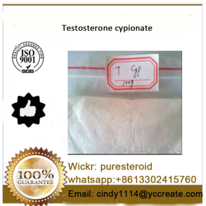 Test Cypionate Steroids Hormone Powder Testosterone Cypionate