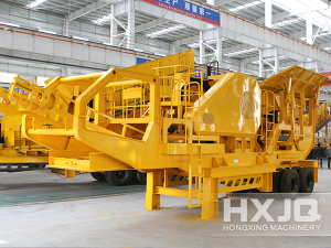Large Capacity Portable Stone Crushers for Sale
