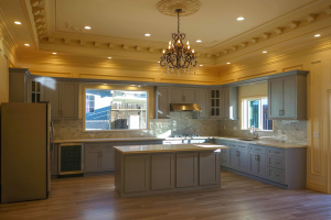 Maplevilles provides inset RTA kitchen cabinets in