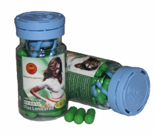 Herbal Flos Lonicerae Weight Loss Capsule