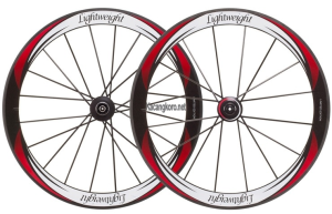 Lightweight Standard III Eclipse Tubular Wheelset