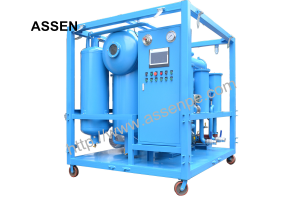 ZYD Double Stage Transformer Oil Purification Machine