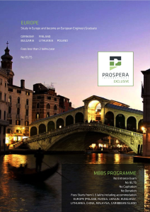 Prospera International Exclusive Europe