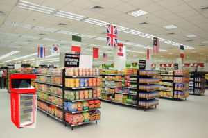 Hologram showcases for supermarkets Saudi Arabia by V-Studio