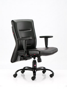 HOF Executive Revolving Chair - Carbon Medium Back