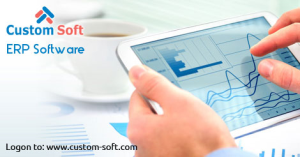 ERP Software India introduced by Custom Soft