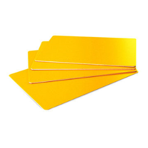 ALUCOONE Yellow PE Aluminum composite panel /ACP/ACM/unbreakable core acp