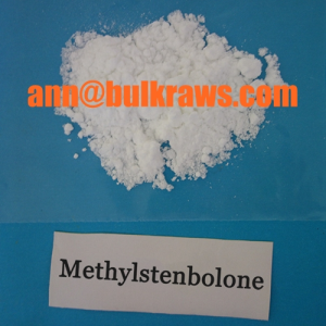 Methylstenbolone Powder Prohormone Powder from ann@bulkraws.com