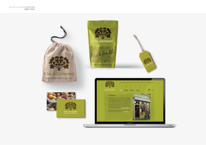 Website & packaging for The Allotment Shop