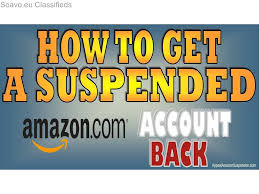 Amazon account reinstate appeal