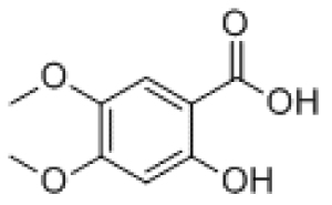 2-Hydroxy-4,5-dimethoxybenzoic acid