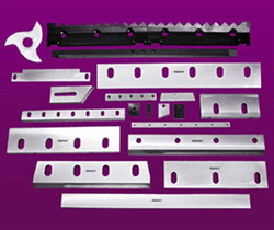 Pelletizing Blades, Pelletizing Knife Manufacturers, Granulator Blades, Granulator Knife India
