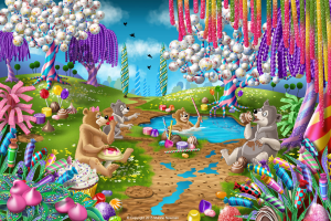 Fantasy Candy World: Pond Party