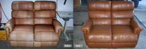 leather furniture redye