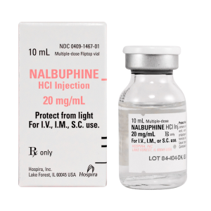 BUY NUBAIN (NALBUPHINE) HCL INJECTION 20MG/ML 10ML/VIAL