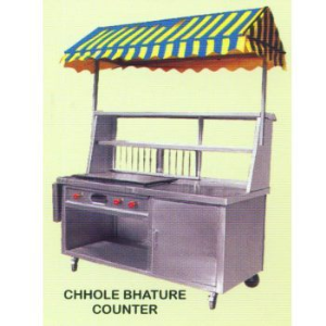chole bhature counter