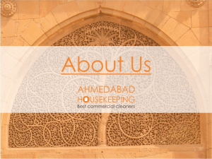 About Ahmedabad Housekeeping