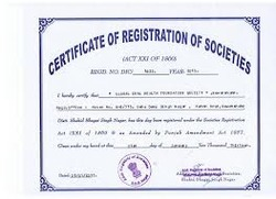 Societies Registration