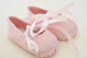 BALLET SLIPPERS PINK for 18 In American Girl Dolls.