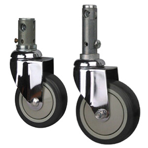 4inch Central Locking Casters