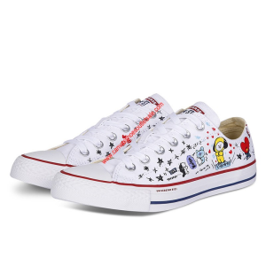 Converse Shoes x BT21 Chuck Taylor All Star Canvas Low Top White