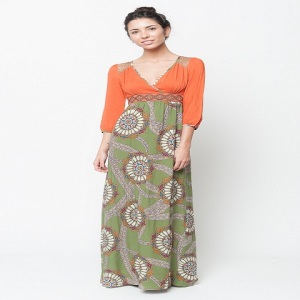 Buy online multi color maxi dress for women on sale at caralase.com