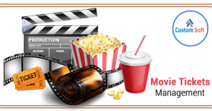 Movie Ticket Management developed by CustomSoft