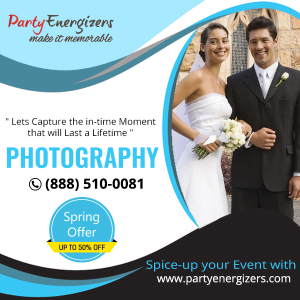 Photography Services for all Parties and Events