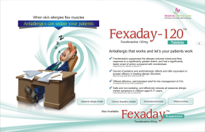 FEXADAY- 120 TABLETS- ANTI-ALLERGIC