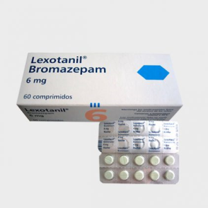 Buy Bromazepam (Lexotanil) 6mg Tablets 60Pills Per Package