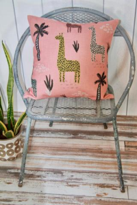 Colorful pillow cover