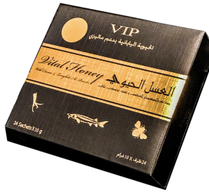 VITAL HONEY VIP 15g X 12 Sachets Sex Enhancement Supplements