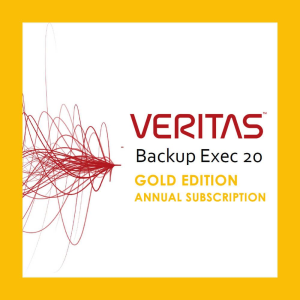 Backup Exec 20 Gold Edition Annual Subscription License