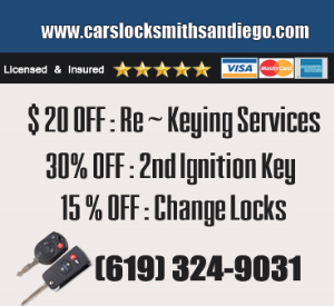 Cars Locksmith San Diego